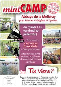 Mini camps collégiens et lycéens @ abbaye de Melleray