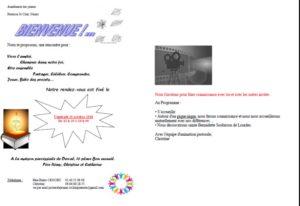Aumônerie 6° @ MAISON PAROISSIALE DERVAL
