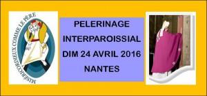 Pèlerinage interparoissial @ cathedrale NANTES