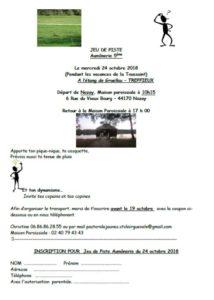 Jeu de piste pour les 5ème @ ETANG DE GRUELLAU à TREFFIEUX