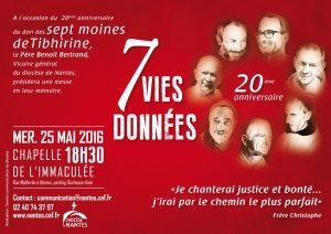 Moines de Tibhirine : faisons mémoire @ CHAPELLE DE L'IMMACULEE A NANTES