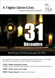 Nuit de la paix @ Eglise Ste Croix NANTES