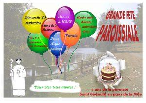 FETE PAROISSIALE ST GUENOLE @ Etang de la Bodinais PIERRIC