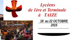 Taizé : une étape à ne pas manquer pour les lycéens @ COMMUNAUTE DE TAIZE