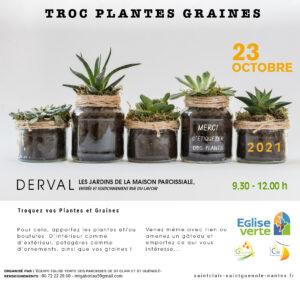 Troc plantes Eglise verte @ DERVAL
