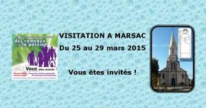 Visitation à Marsac/Don @ MARSAC SUR DON