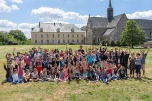 camp été 2014 à l'Abbaye de la Melleray