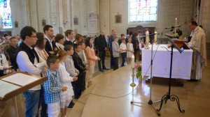 1ère communion à Derval